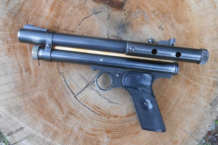first paintball gun (Nel-spot 007 marker)