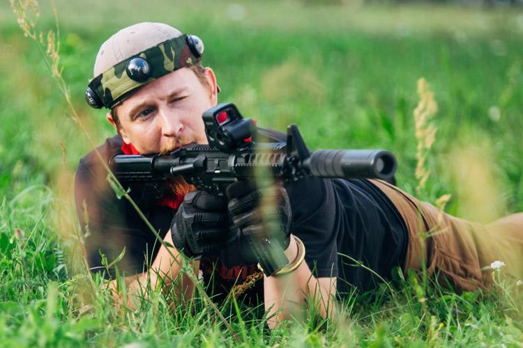 taktiskais laser tag